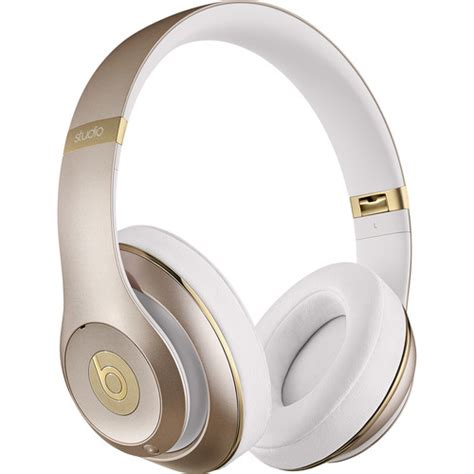 beats mobile headphones beats by dr dre studio wireless headphones gold mhdm2am