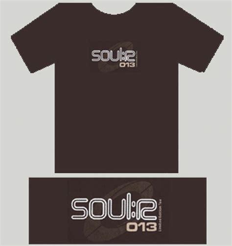 T Shirt Brown 01 soul r soul r t shirt brown t shirt with white logo