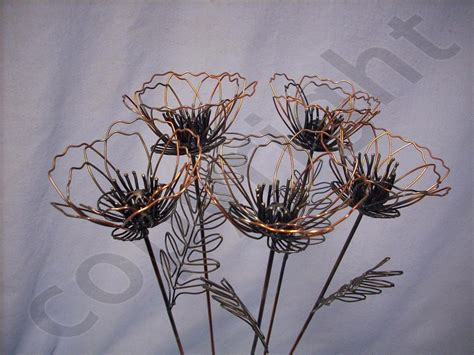 wire flowers wire flowers wall
