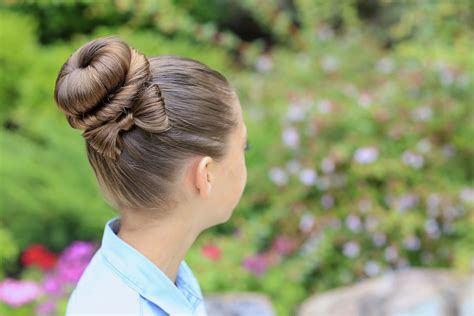 How To Do Hairstyles Buns by The Bow Bun Updo Hairstyles