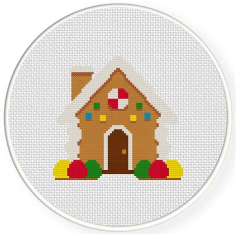 house pattern cross stitch gingerbread house cross stitch pattern daily cross stitch