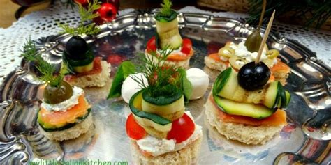 canapes italien zucchini my kitchen part 2