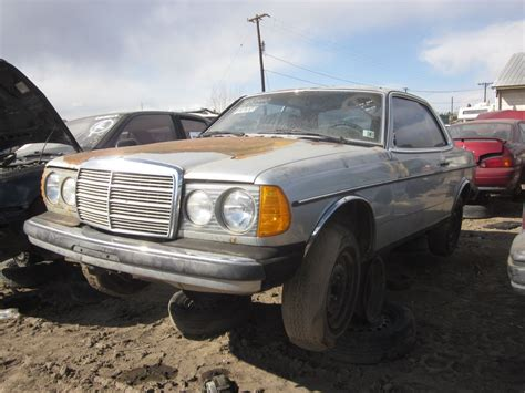 junkyard find mercedes w123 coupe the about cars