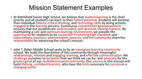 vision statements sle 28 images vision statement template 28 images best photos of mission