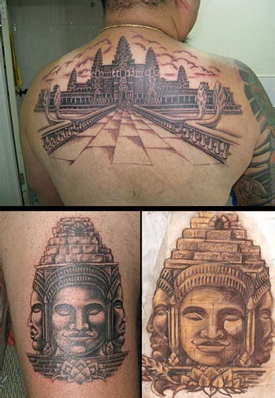 angkor wat tattoo asian sinville sihanoukville cambodia tatoo