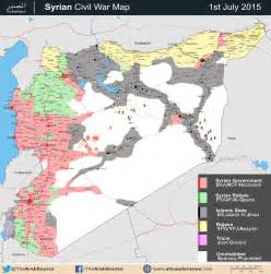 Syrian Civil War Map Template by Syria And Iraq 2014 Onward War Map