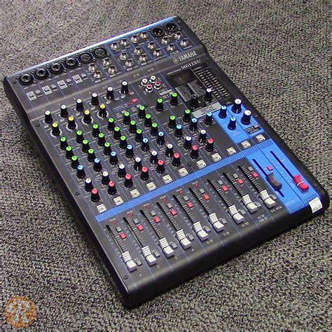Mixer Yamaha Mg12xu yamaha mg12xu analog mixer reverb