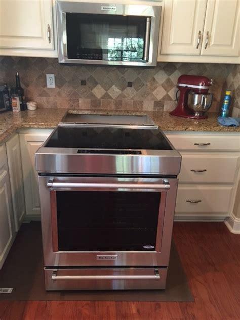 kitchenaid slide in induction stove new kitchen aid induction range
