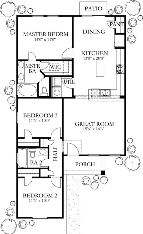 1200 square feet house plans 1200 square feet 2 bedrooms 1 batrooms on 1 levels