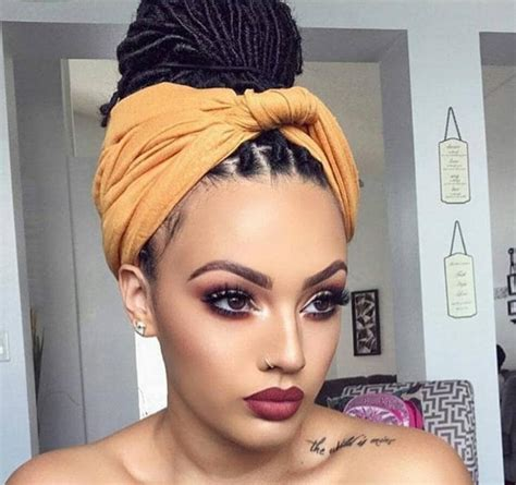 hair styles with wrap boho box braids 11 stunning ways to channel your inner