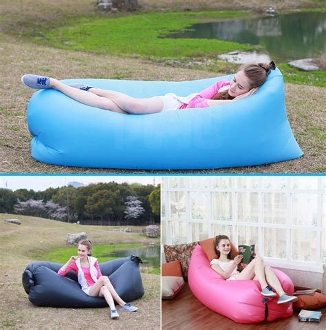inflatable outdoor couch inflatable outdoor air sleep sofa couches for as low as
