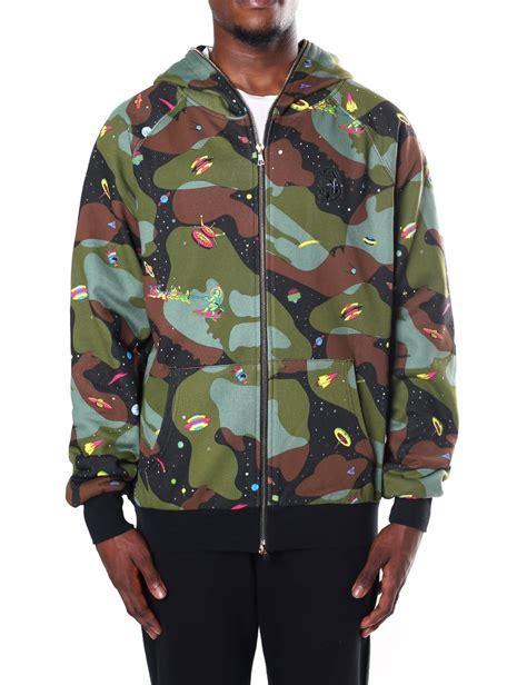 Jaket Zipper Hoodie Sweater Billioners Boys Club billionaire boys club s all space camo zip through hoody