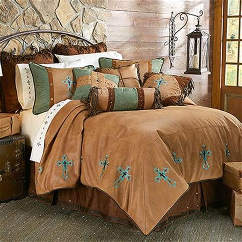 Bedroom Furniture Las Cruces Nm Las Cruces Cross Western Style Bedding Comforter Set