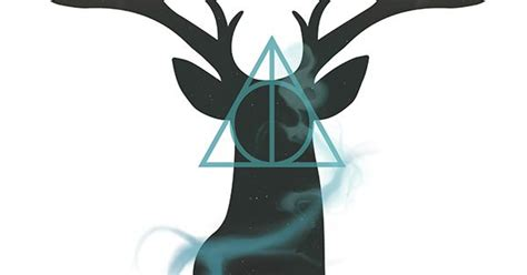 Deathly Hallows Stag harry potter stag deathly hallows design harry potter