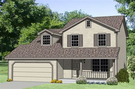 Farmhouse Style House Plan   4 Beds 2.5 Baths 1500 Sq/Ft