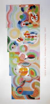 Art Deco Colors sonia delaunay voyages lointains 1937 reproduction