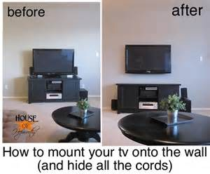 How To Hide Wires From Wall Mounted Tv How To Mount A Tv On The Wall