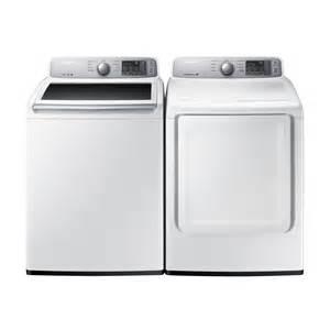 samsung wa45h7000aw dv45h7000ew ac washer and dryer set
