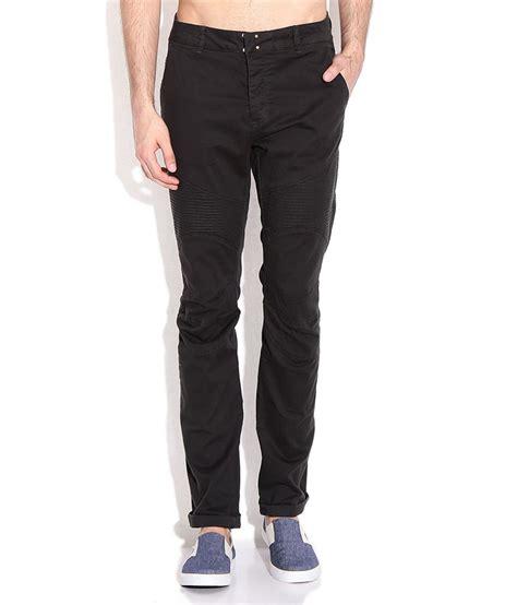 Black Slim Fit Chino breakbounce black slim fit chino trousers buy