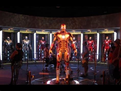 hd iron man exhibit tech disneyland innoventions