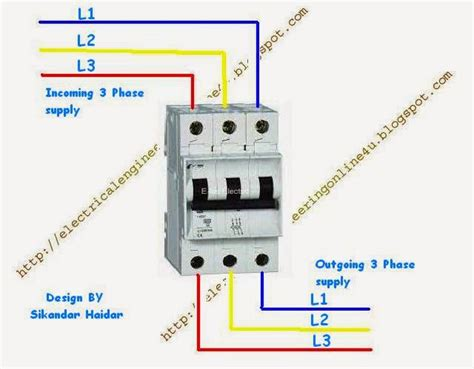 3 pole circuit breaker wiring diagram 37 wiring diagram