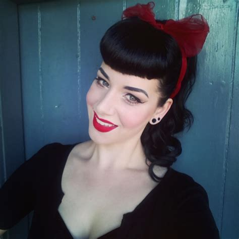Pin Up Hairstyles With Bangs by 18 Best Easy To Make Pin Up Hairstyles With Bangs That