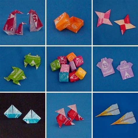 Origami Swan Gum Wrapper - 17 best images about willy wonka on crafts
