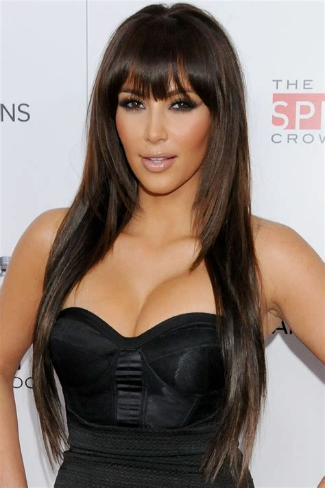 pictures best haircuts for long faces kim kardashian long face short top 25 hairstyles by kim kardashian hairstyles for woman
