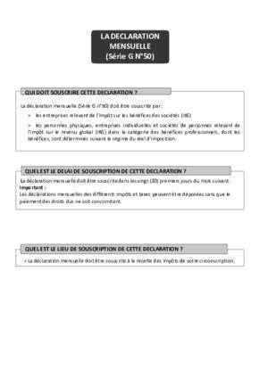 FORMULAIRE G50 PDF
