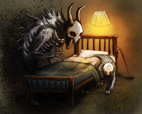 monster under the bed monster under the bed creepy