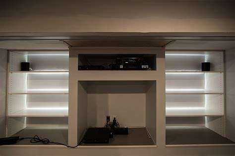 Led Shelf Lights by Easy On The Eye Led Light Closet Roselawnlutheran