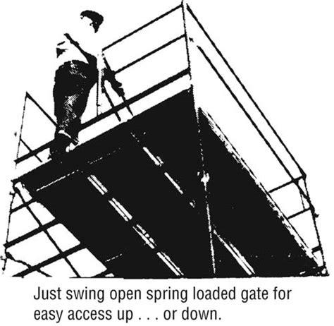 scaffold swing gate swing gate end panel scaffold frames lynn scaffolding