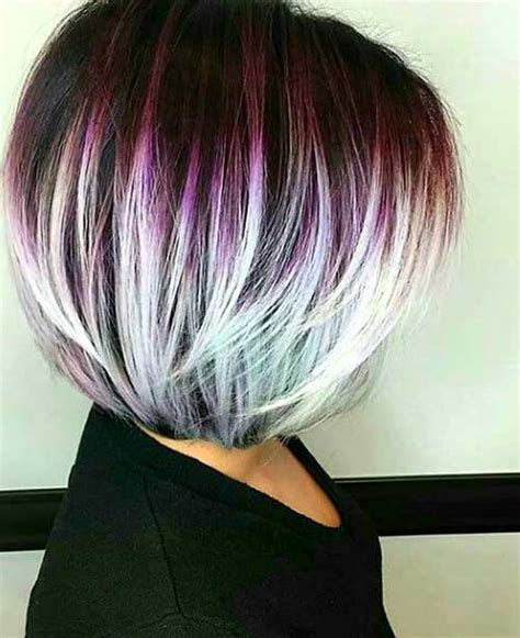 hairstyles and color for short hair unique hair colors on short haircuts short hairstyles