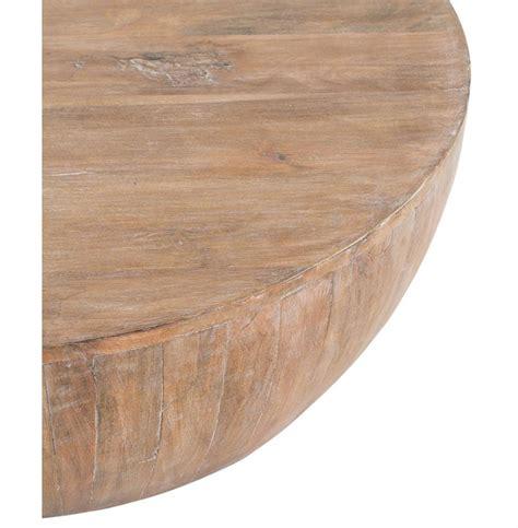hubert rustic lodge white washed wood coffee table kathy