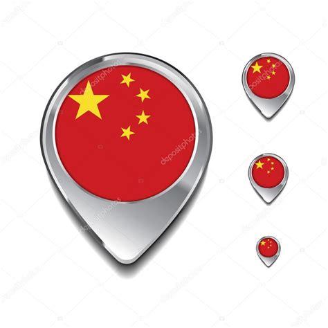 map pins china flag map pins stock vector 169 ibrandify 93708868