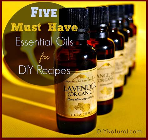 Must Aromatherapy Oils by How To Use Essential Oils The Top Oils You Need And Many