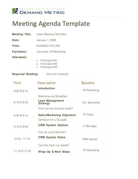 sales team meeting agenda template sales meeting agenda template business
