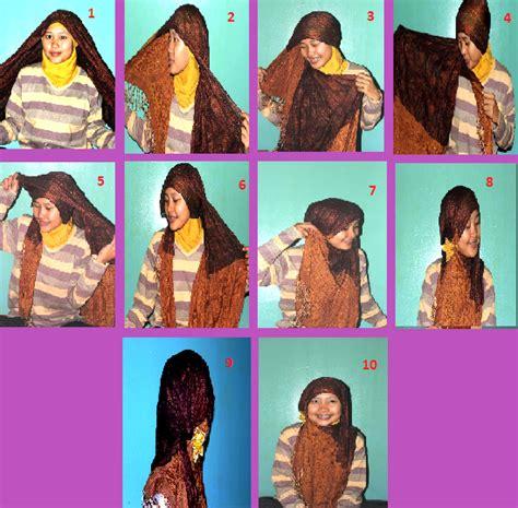 tren hijab cantik dengan tren gaya hijab enoyuliani