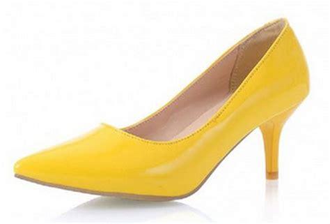 yellow dress shoes for choozone