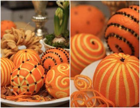 Orange Fruit Decoration by Diy No 235 L 49 Bricolages De No 235 L 224 Faire Soi M 234 Me Faciles