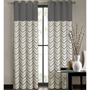 jcpenney living room curtains colordrift tribal stripe grommet top curtain panel i jcpenney