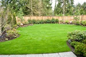 large backyard landscaping ideas home landscaping