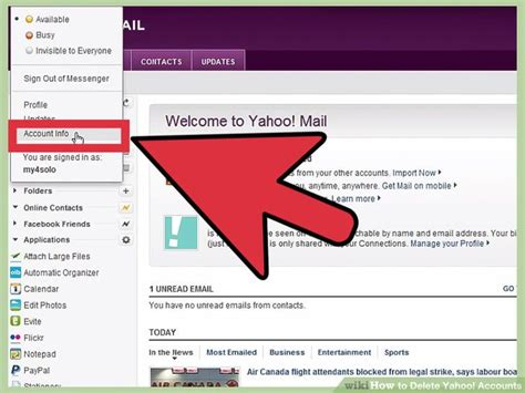 yahoo email won t open link to delete yahoo account how to use smart tv
