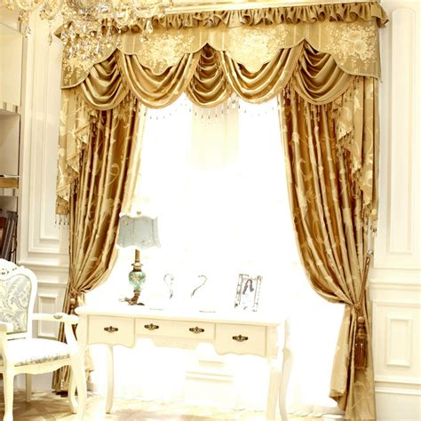 cotton room darkening living room designer window curtains - Designer Window Curtains
