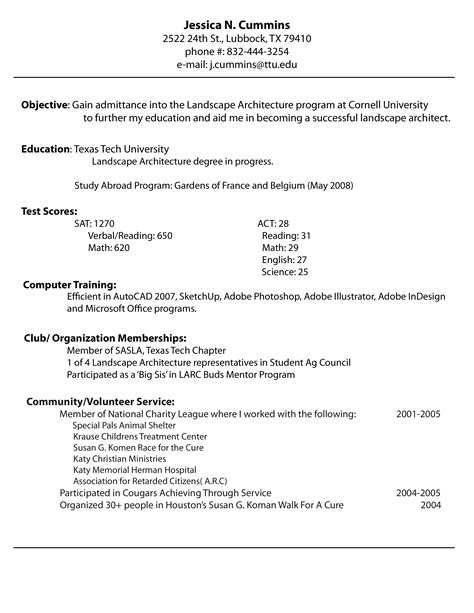 how to make a resume for an internship how to create a professional resume