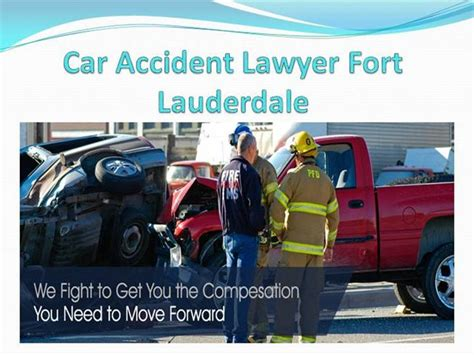 Car Lawyer In Fort Lauderdale - 10 most common fort lauderdale car injuries