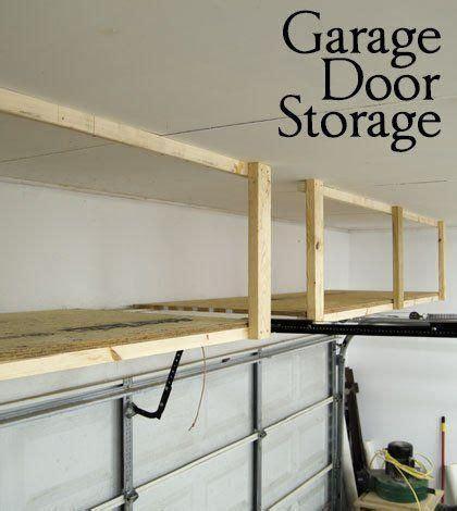 Garage Door Storage Ideas 25 Best Ideas About Garage Storage On Diy