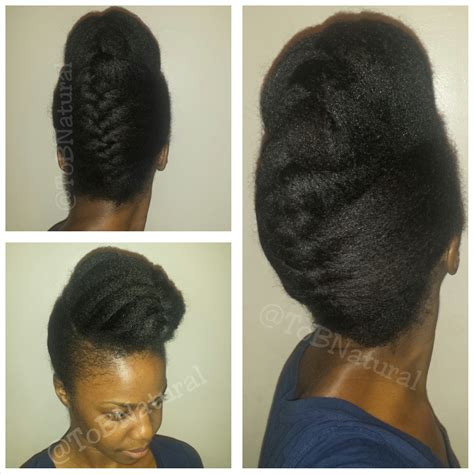 french braid natural hair fall protective styles my top four tobnatural
