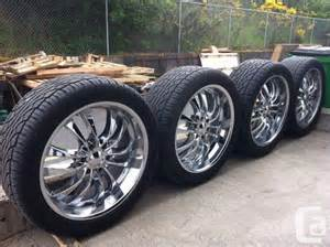 Car Tires Bc 22 Quot Chrome Rims With Tires For Sale In
