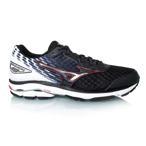 mizuno wave rider mens running shoes mizuno wave rider 19 mens running shoes black
